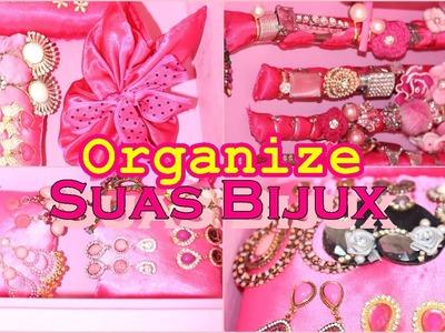 Organize Seus Brincos e Anéis| DIY Almofadonhas e Saquinho #15