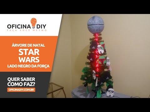 Arvore de Natal Star Wars - Lado Negro da Força   Oficina DIY #20