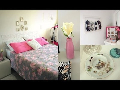 D.I.Y: Ideias fofinhas e baratas para decorar o quarto