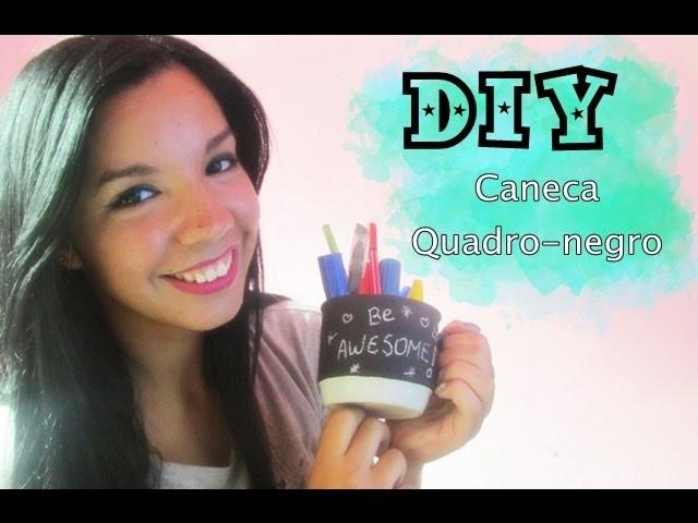 DIY Caneca Quadro-Negro | Talita Ribeiro Blog