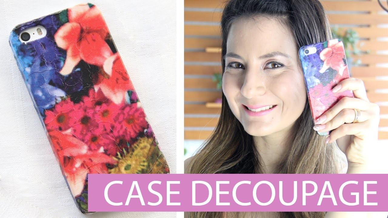[DIY] Como customizar Case Celular c. Guardanapo I Decoupage - wFashionista