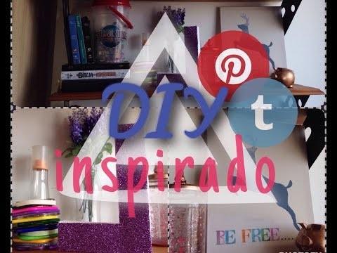 DIY - decor inspirado no pinterest.tumblr