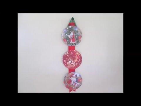 DIY: Guirlanda de Natal com CD!!!