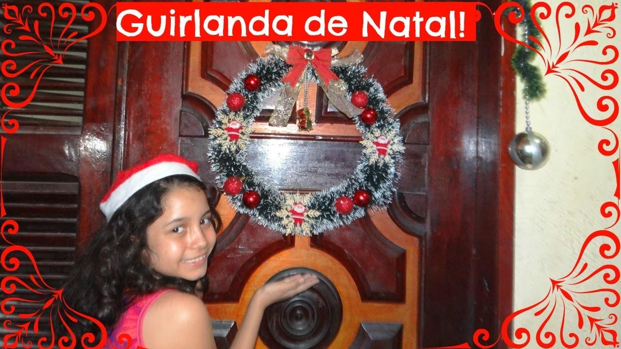 DIY:Guirlanda de Natal!