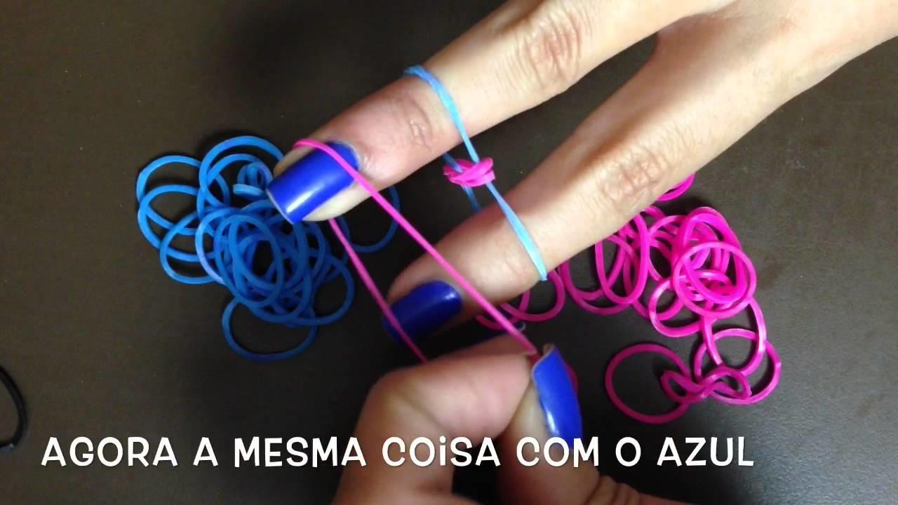DIY: Pulseira De Elastico