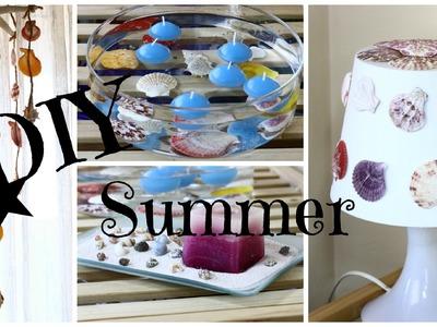 DIY SUMMER - com conchas e búzios