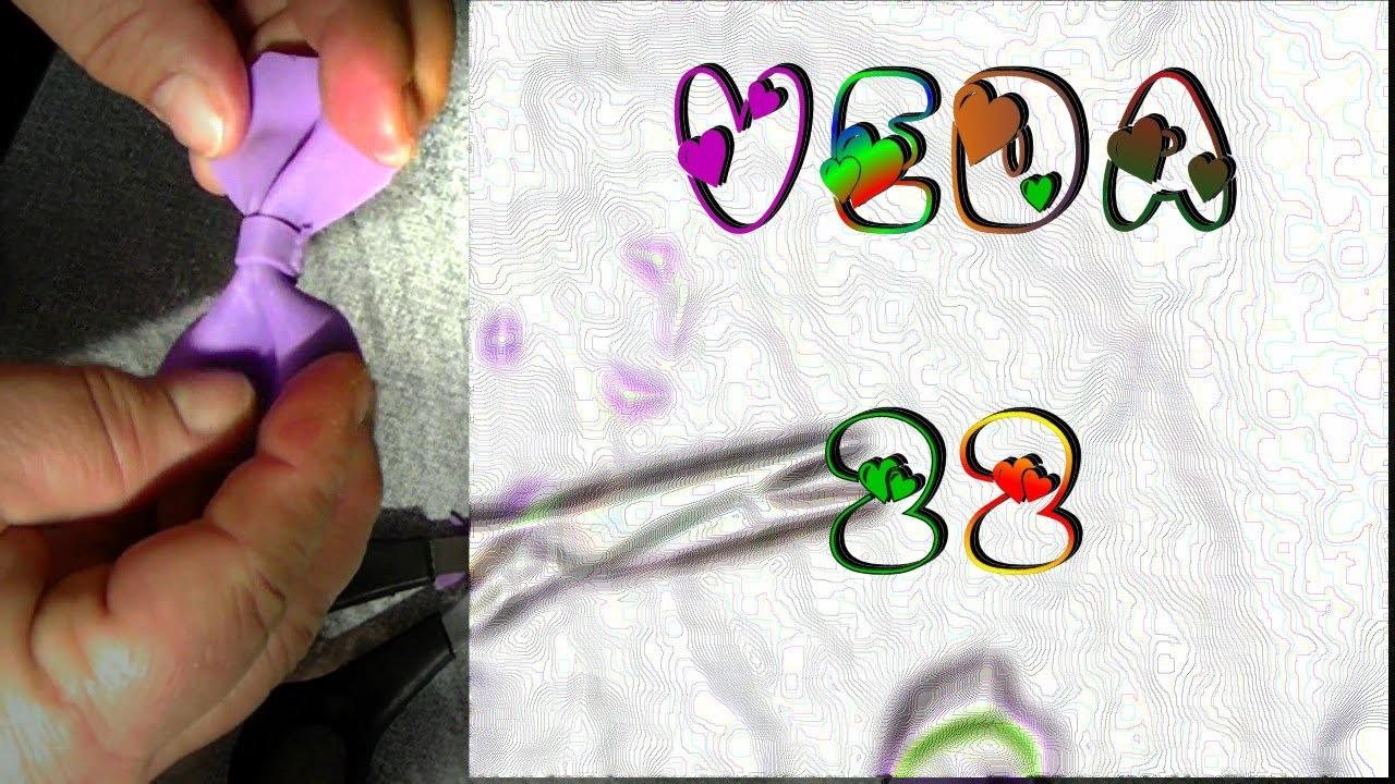 Veda #22 DIY Como fazer o laço mais simples em EVA