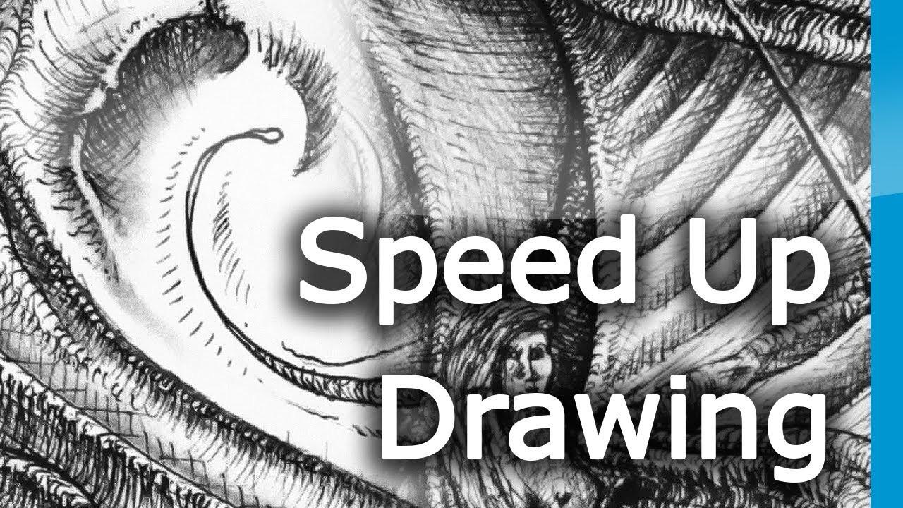 Drawing #5 - 'Artemis' [Black ink Pen on A3 Paper]