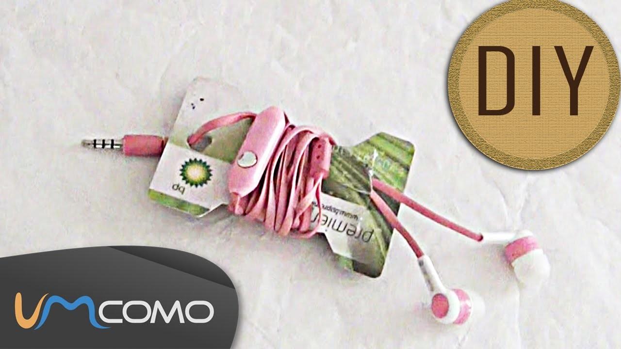 DIY - Suporte Simples para Auriculares