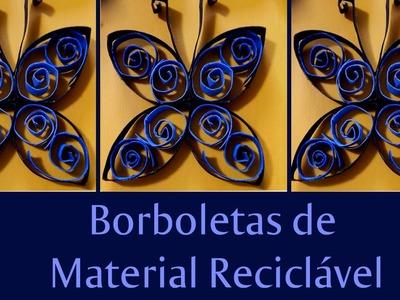 DIY - Borboletas - Reciclagem - Faça Você Mesmo