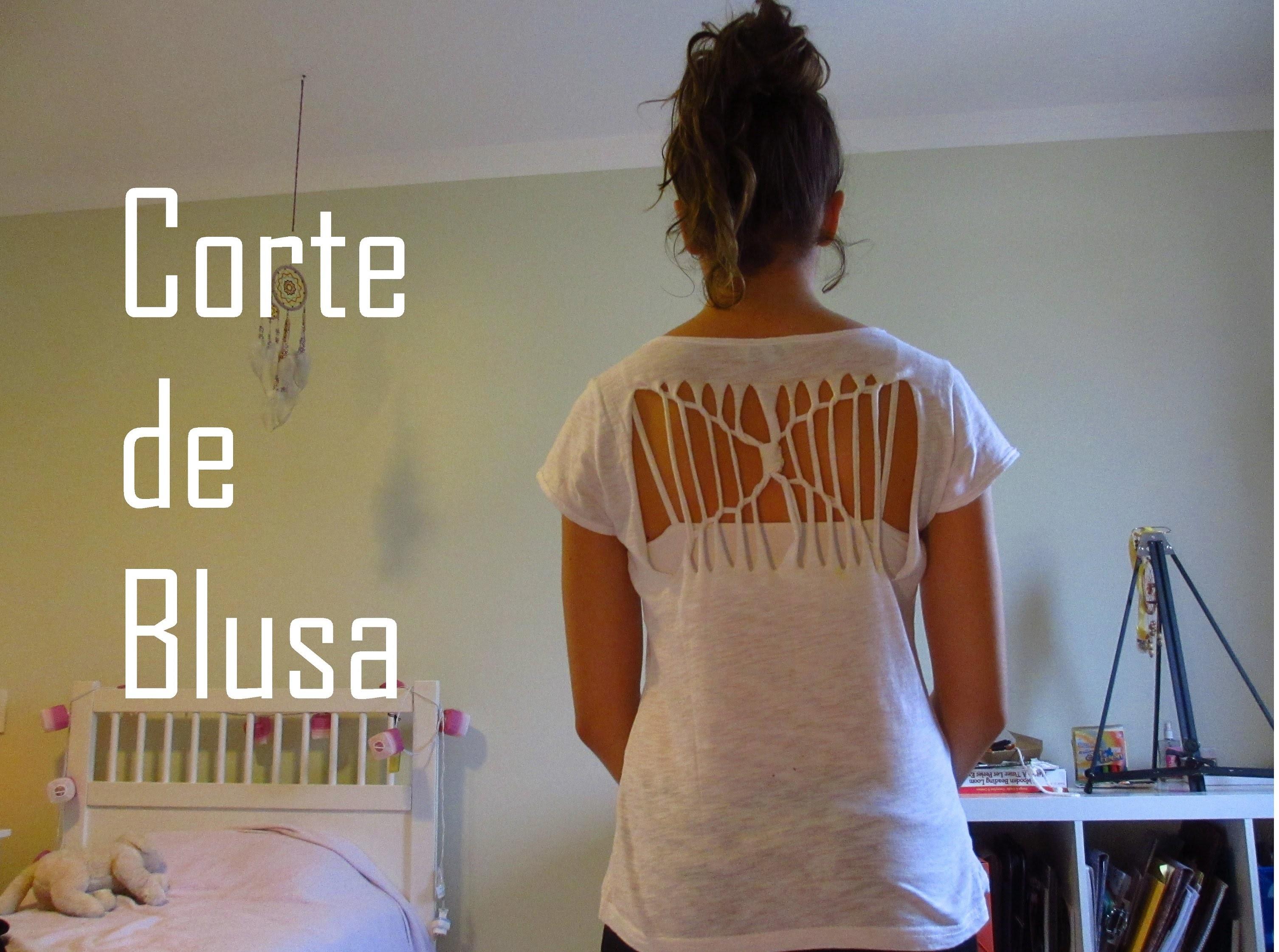 DIY:Corte de Blusa