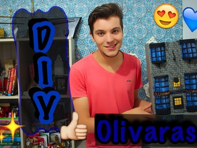 DIY - Olivaras Harry Potter - Eduardo Wizard