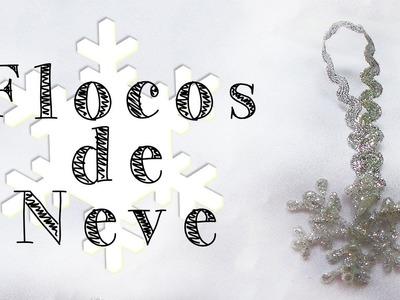 DIY - Flocos de Neve - Snowflakes