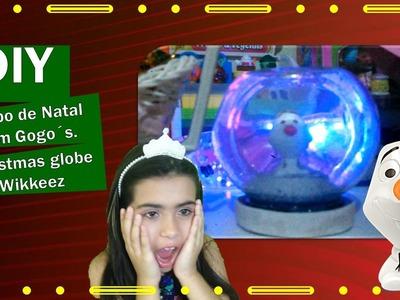 Globo de Neve - Globo de Natal - Globo de Natal Gogos - DIY Christmas Globe - Artesanato Infantil