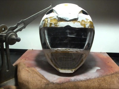 How do you make a POWER RANGER helmet - DIY - part 8