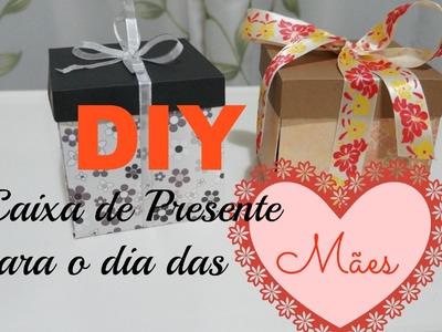 DIY | Caixa de Presente para o dia das Mães