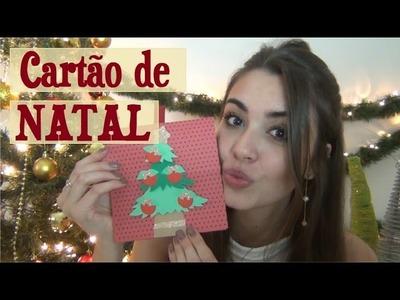 DIY Cartão de Natal | Maísa Flora