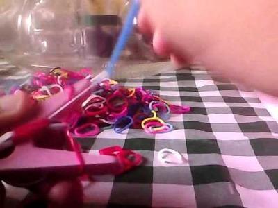Tutorial: Pulseira Rainbow Loom Modo Fácil
