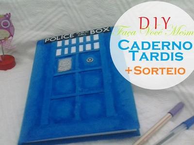 DIY - Caderno Tardis. Doctor Who