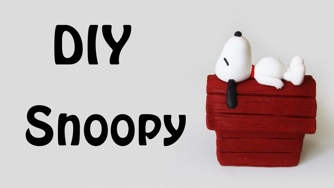 DIY: Como Fazer o Snoopy na Casinha (The Peanuts Tutorial)