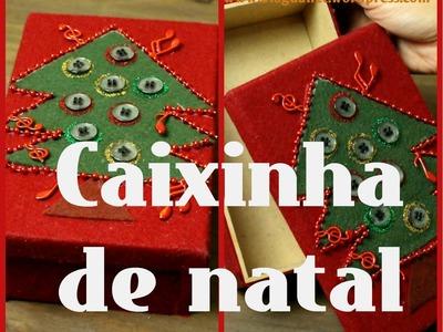 DIY - Caixinha de Natal