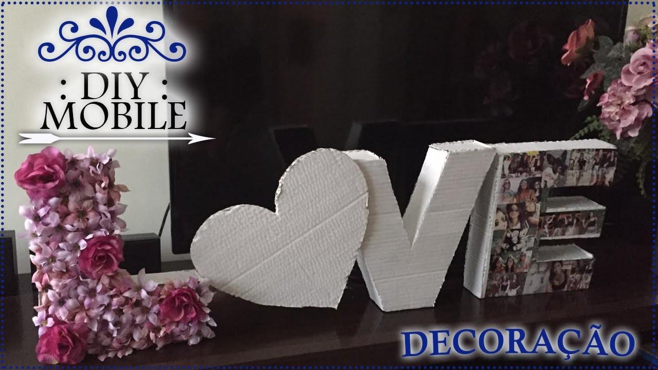 DIY :: Ideia de presente para amiga e.ou decoração de ambientes