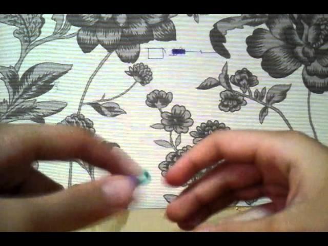 Como fazer uma uva de elasticos rainbow loom