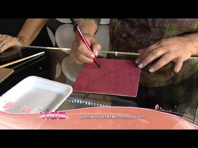 Aprenda a técnica de pintura que imita toalha felpuda