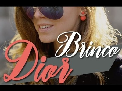 DIY.Faça Você Mesmo: Brinco Pérolas Dior - Passo a Passo