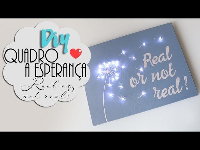 DIY Quadro A Esperança: Real or not Real? - Peeta e Katniss ♥
