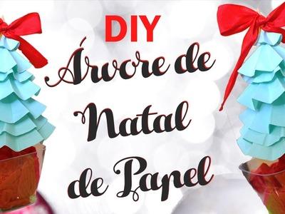 Especial de natal #1: DIY Árvore de Natal de papel