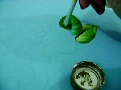 MOV05621pintura básica de folhas, vídeo amador do cantinho da arte da val. (orkut)