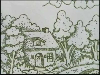 05.09.2010 - Pintura em tecido com Pontilhismo