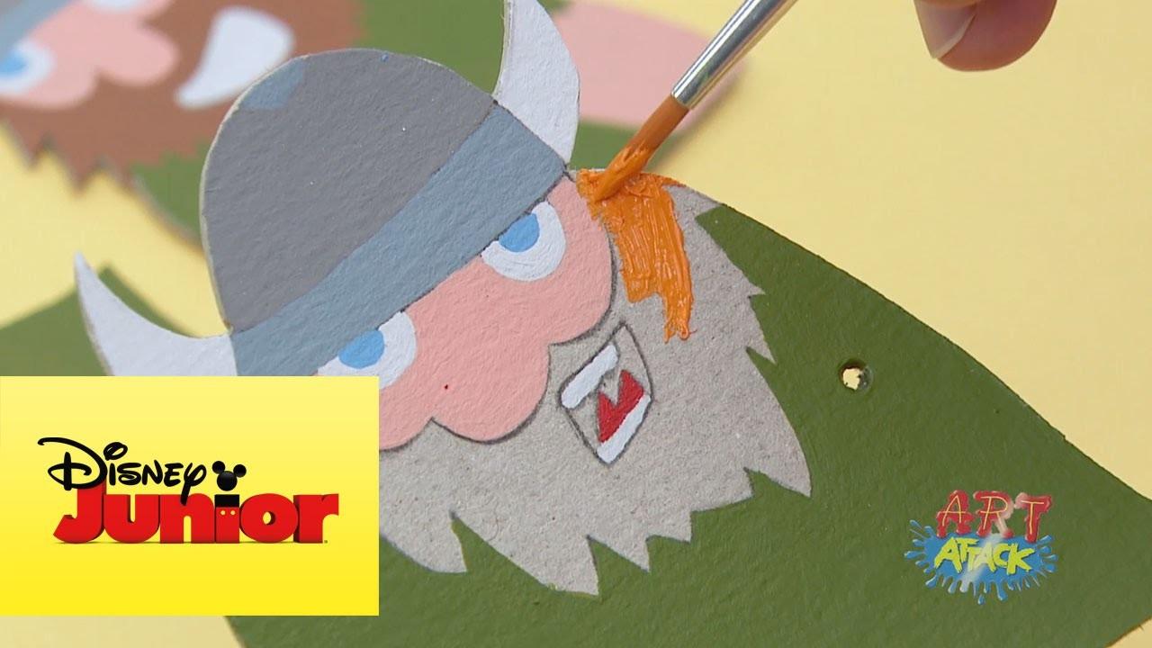 Art Attack: Barco viking