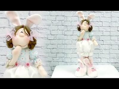 Boneca Coelha com Alejandra Sandes