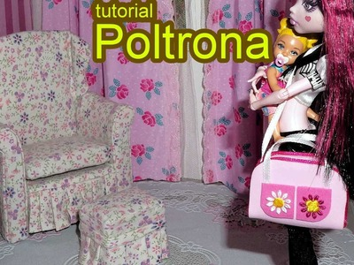 Como fazer poltrona #2 para boneca Monster High, Barbie, MLP, EAH, etc