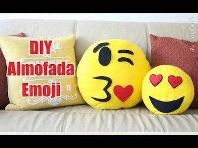 DIY - Almofada de Emoji