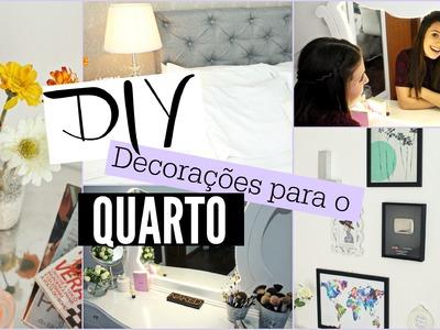 DIY - Decorações para o quarto!