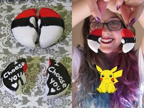 D.I.Y. Colar Pokebola - I Choose You ❤