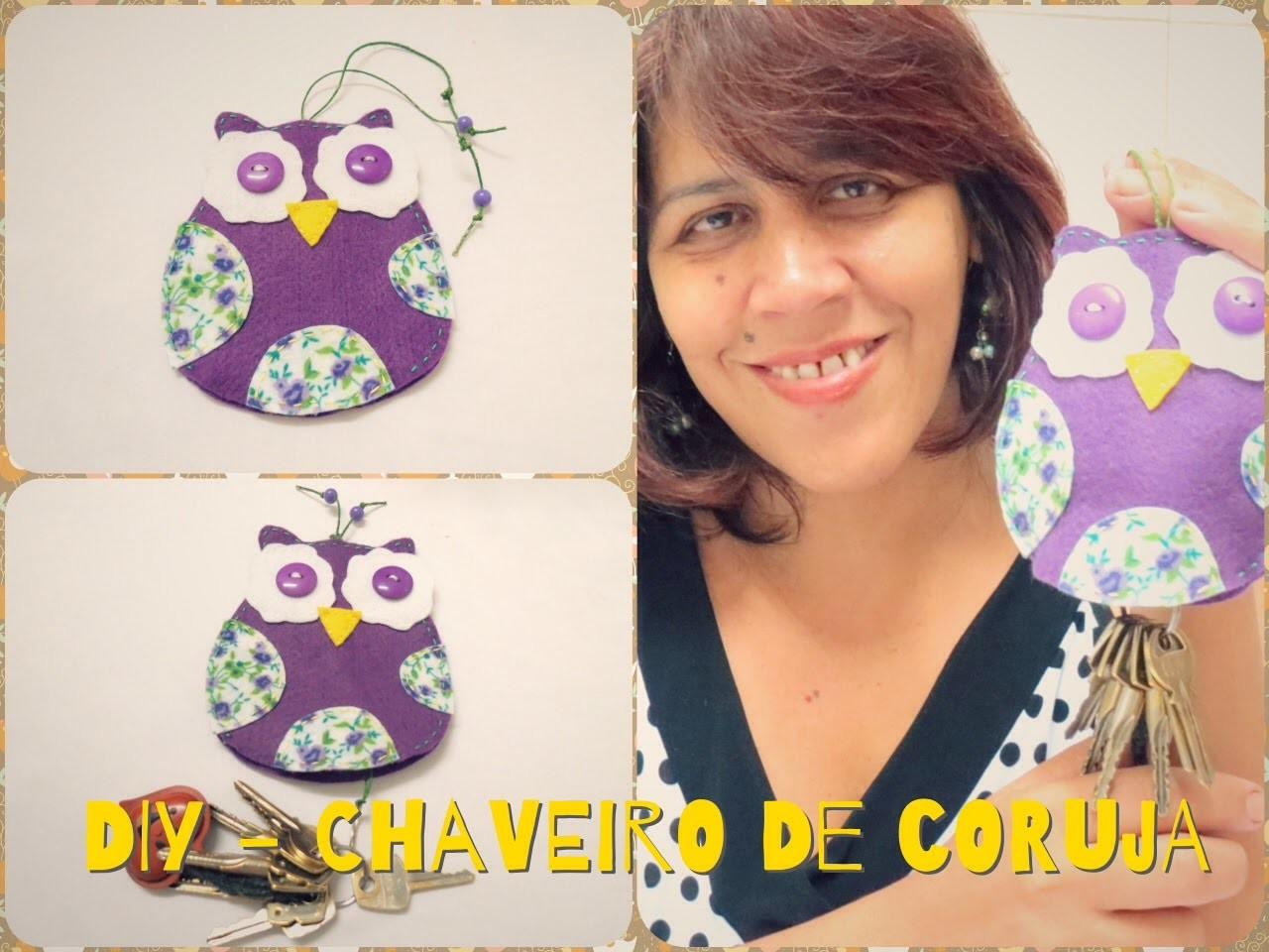 DIY - Chaveiro de Coruja