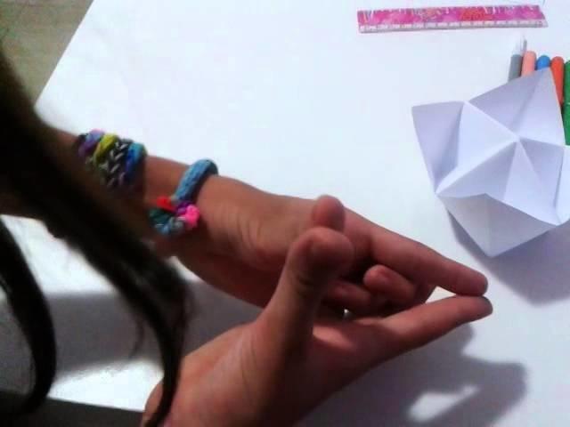 Como fazer um origami adivinha