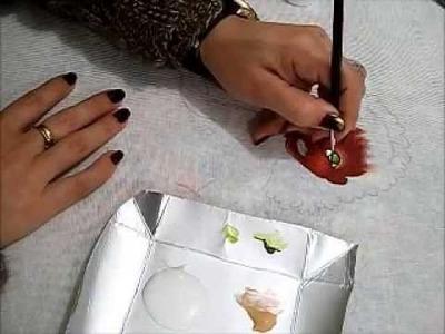 Pintura em tecido - Boneca Marli - Como pintar boneca negra 1.2 - how to paint black doll