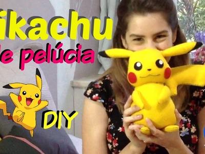 Desafio Méliuz   DIY: Pikachu de pelúcia - Lápis, papel, tesoura