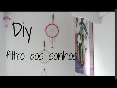 DIY: filtro dos sonhos. dream catcher