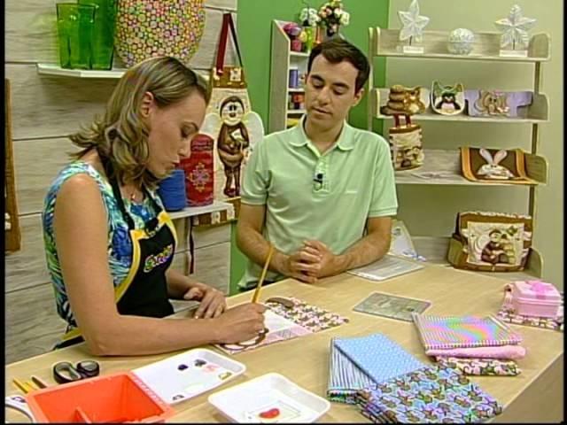 Programa Arte Brasil - 30.01.14 - Priscila Muller - Patchwork