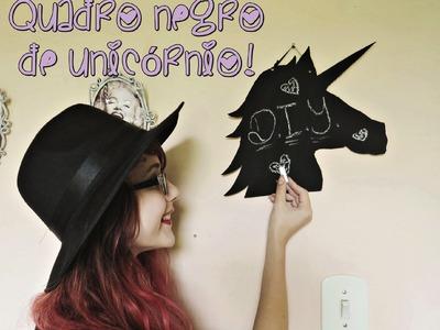 D.I.Y. Quadro-Negro de Unicórnio (Blackboard Unicorn)