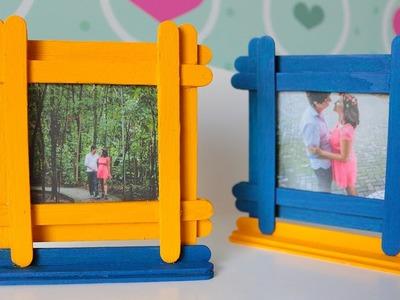 DIY: Porta-retratos com palito de picolé
