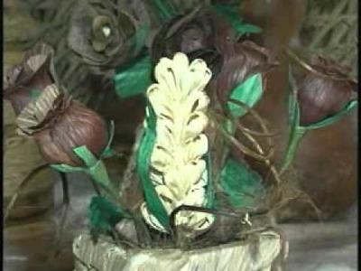 Artesanato em Palha de Milho Garante Renda Extra jt 20110405