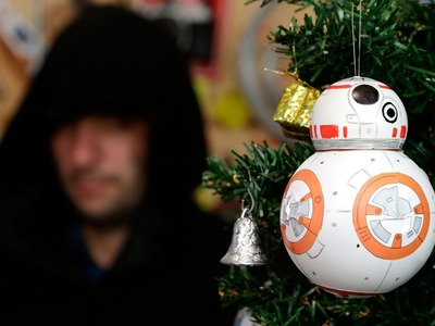Bola de Natal do BB-8, o Robô do Star Wars