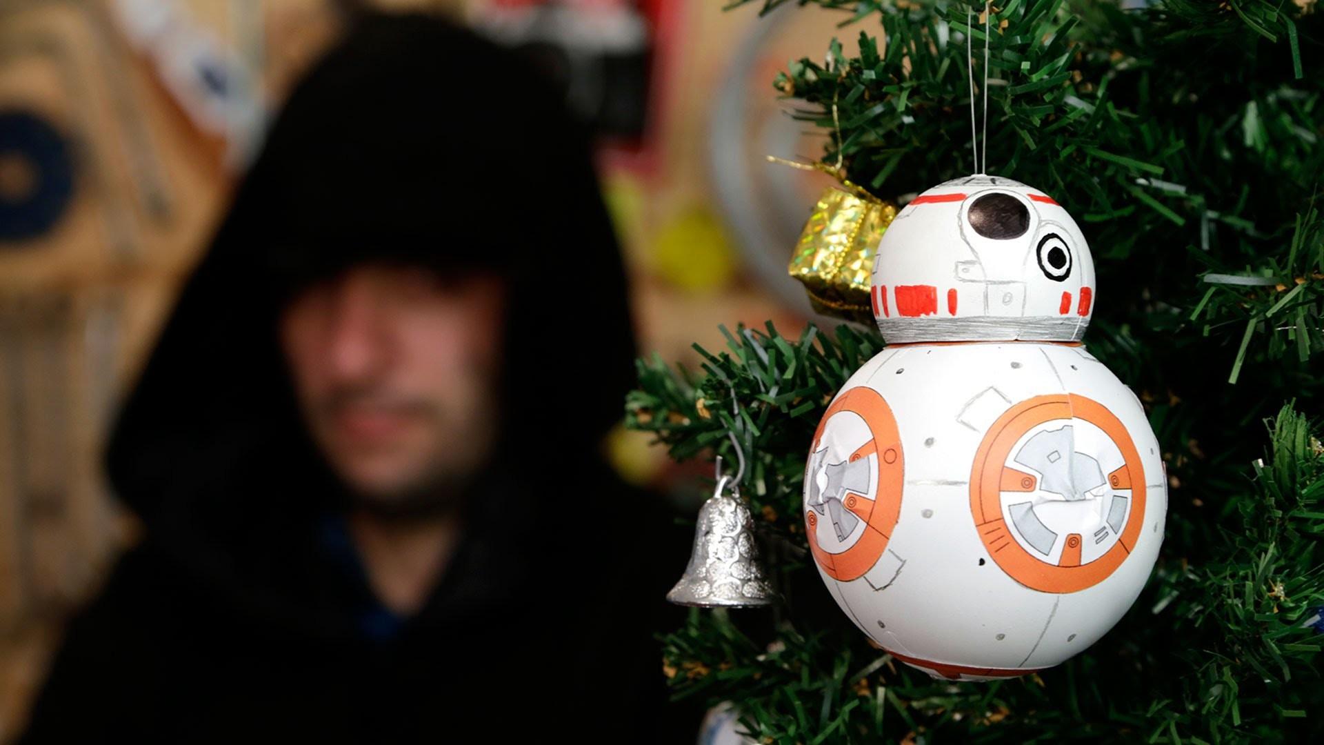 Bola de Natal do BB-8, o Robô do Star Wars